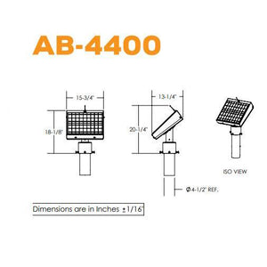 Solar Powered Remote Transmitter | AB-4400