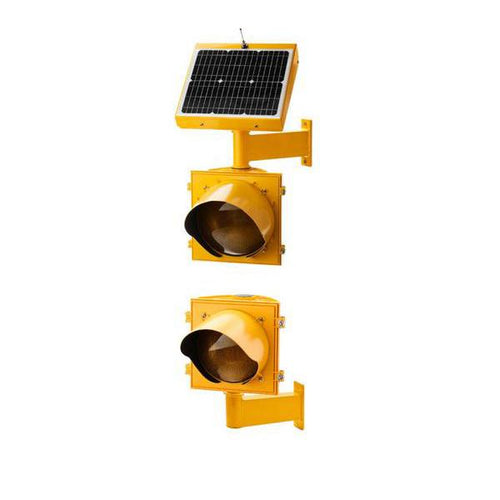 Dual, Vertical Pole Mounting Crosswalk System | AB-7412