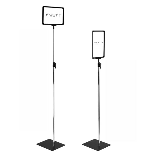 Pedestal Sign Holder Stand 11