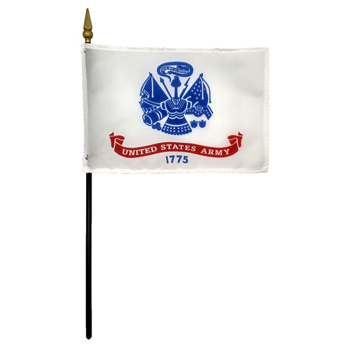 United States Army Desk Flag with Staff 4