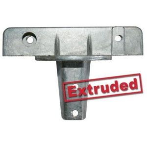 "U-Channel Cap 180° - 5 ½"" Extruded Street Sign Bracket"