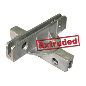 "90° Crosspiece - 5 ½"" Extruded Street Sign Bracket"