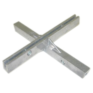 "90° Crosspiece - 12"" Extruded Street Sign Bracket"