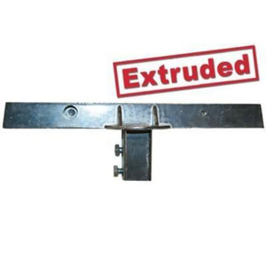 "U-Channel Cap 90° - 12"" Extruded Street Sign Bracket"