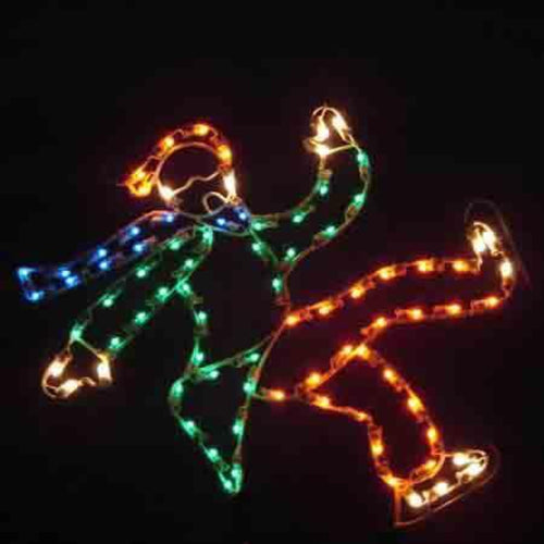 3' Boy Falling Skater Yard Decoration