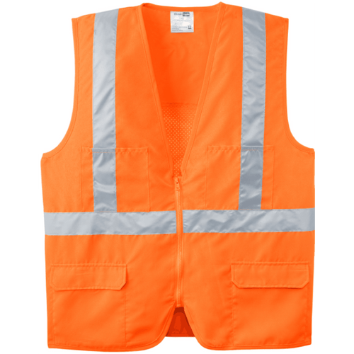 CSV405 Vest - Safety Orange