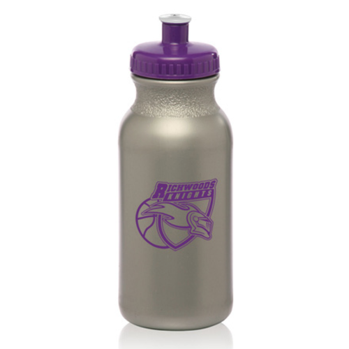Custom 20oz. Water Bottles with Push Cap