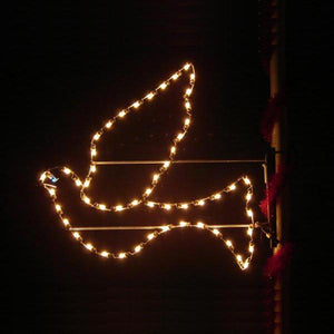 5' Silhouette Peace Dove