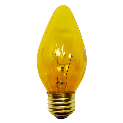 Amber Flame Bulb | Candle Decoration Replacement