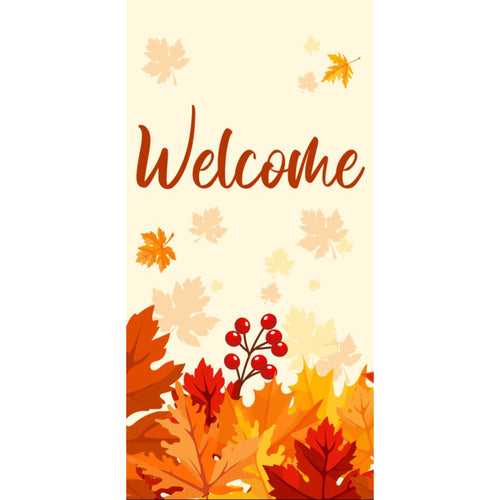 FALL-001 Fall/Autumn Pole Banner