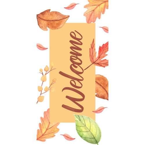 FALL-003 Fall/Autumn Pole Banner