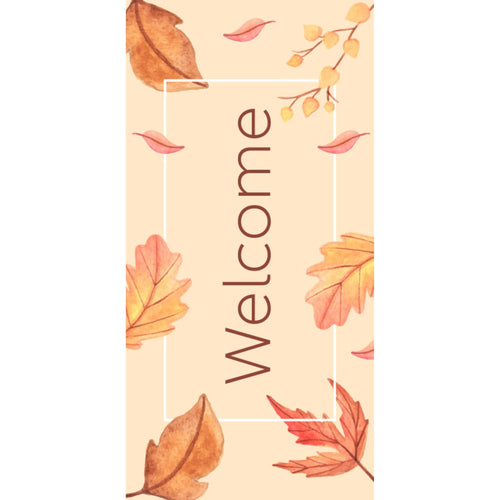 FALL-004 Fall/Autumn Pole Banner
