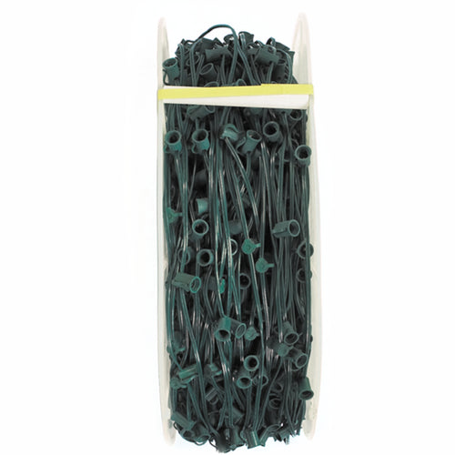 C9 Builder Cord - Green Wire | 500 FT - 18ga