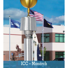 Load image into Gallery viewer, Monarch Series Flagpole - Internal Halyard