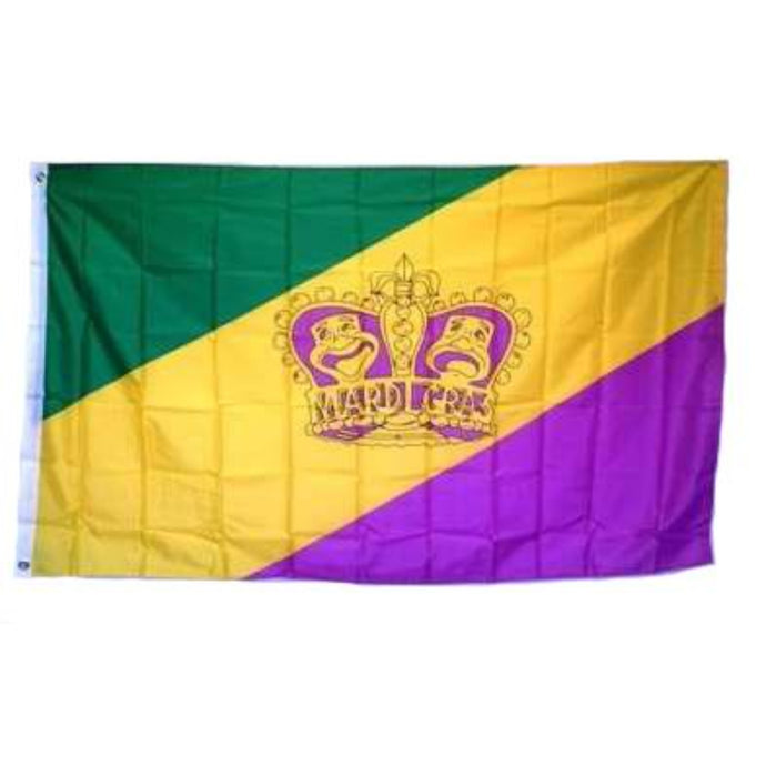 Mardi Gras Flags For Sale
