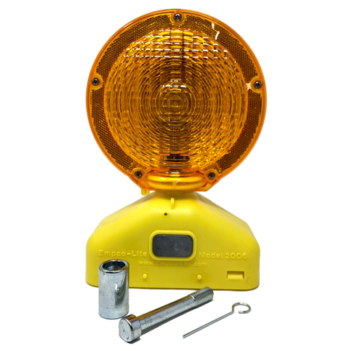 2006-Plus - Type A, C, and 3 Way Solar Assist LED Barricade Light