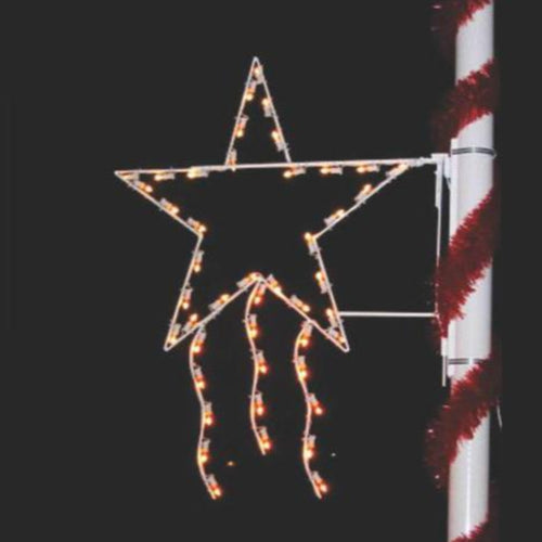 4' Majestic Star - Pole Mount Decoration