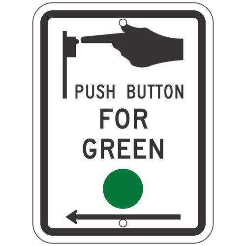 R10-4 Push Button For Green Sign