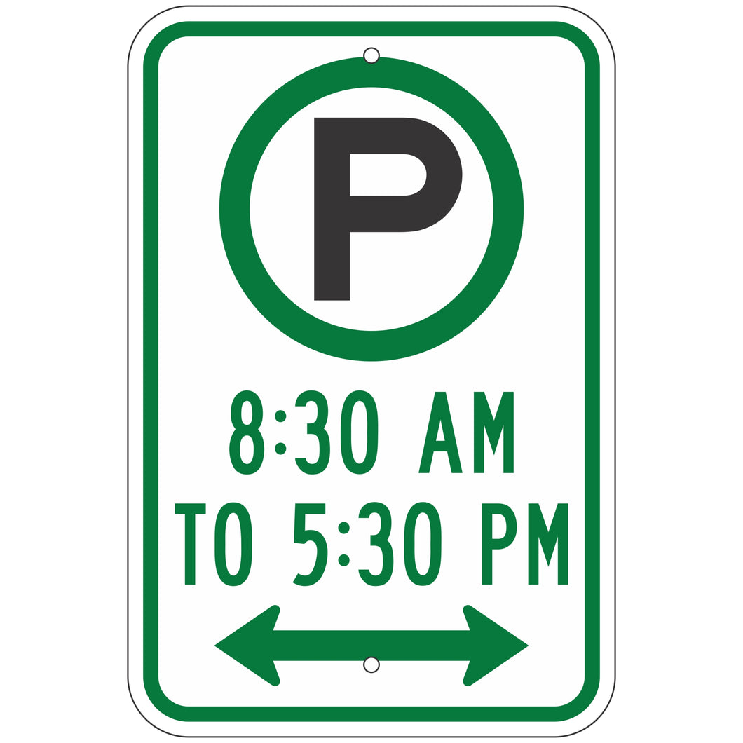 R7-23D Pay Parking Sign