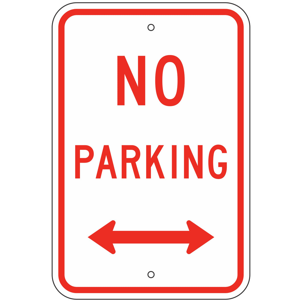 R8-3AD No Parking Sign