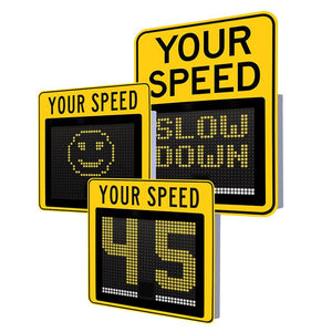 "15"" Compact Variable Message Radar Sign 