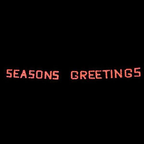 3' x 40' Seasons Greetings Garland Skyline
