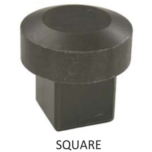 Square Post Drive Cap - 1-3/4