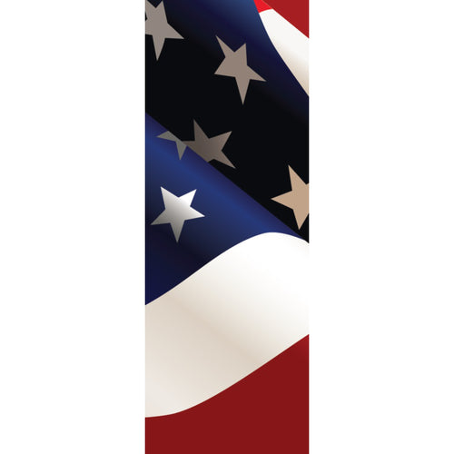 USA-009 USA Patriotic Pole Banner