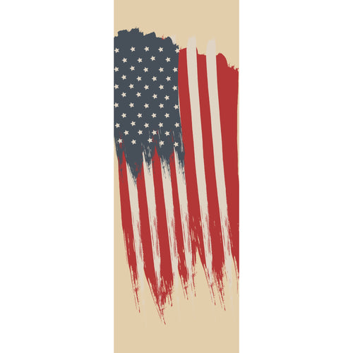USA-016 USA Patriotic Pole Banner