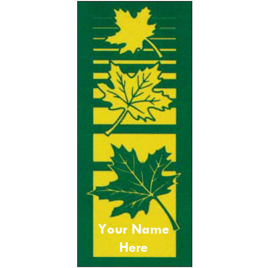 Old Favorites Leaf Banner