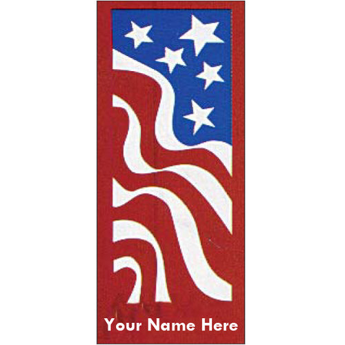 Old Favorites America Red Flag Banner