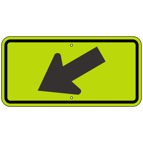 W16-7PL Left Arrow Sign