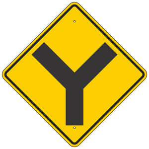 W2-5 Intersection Warning Sign