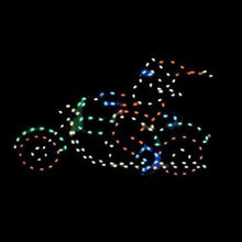 Load image into Gallery viewer, 4-1/2' Santa Riding Motorcycle Yard Decoration