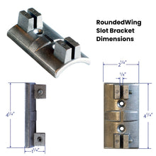 Load image into Gallery viewer, #4 Wing Bracket for Flat Signs