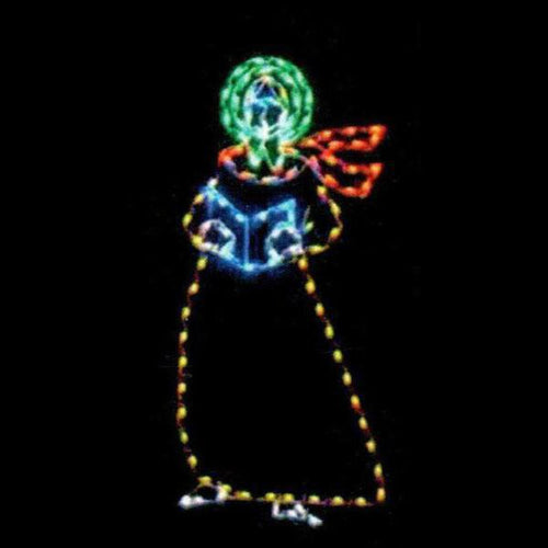 6' Yuletide Woman Yard Decoration
