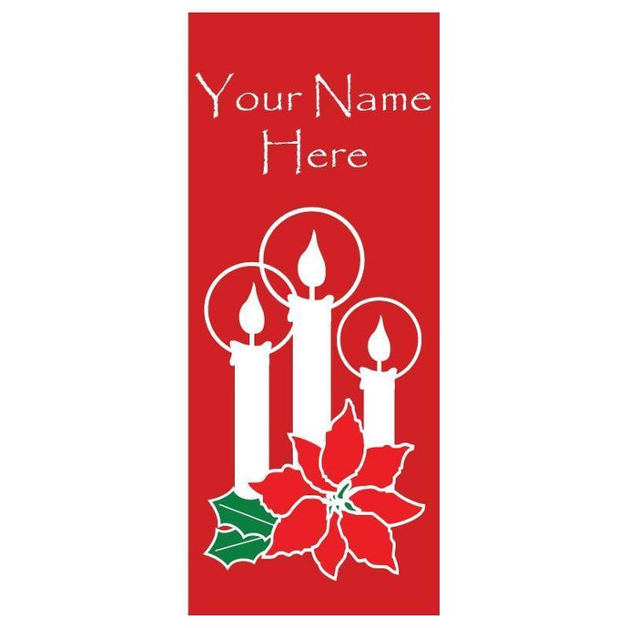personalized Candle Banner