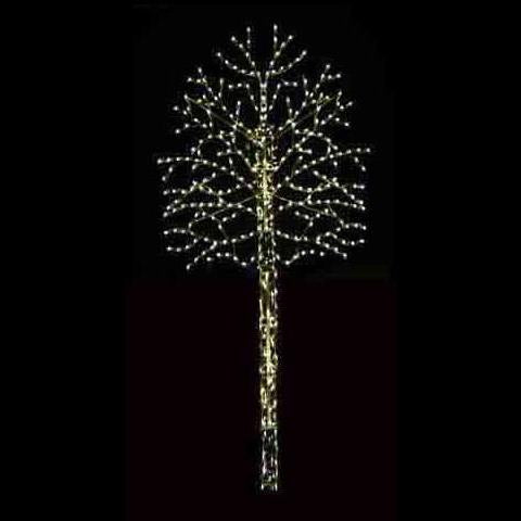 16' LED Pole Mount Branch Tree