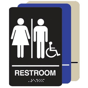 Unisex Restroom Handicap Accessible