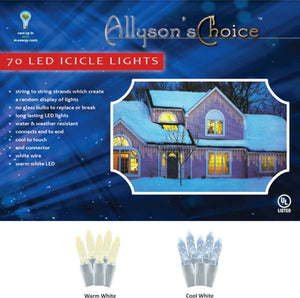 7ft M5 LED Icicle Light Set