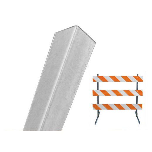 Angle Iron Barricade Uprights