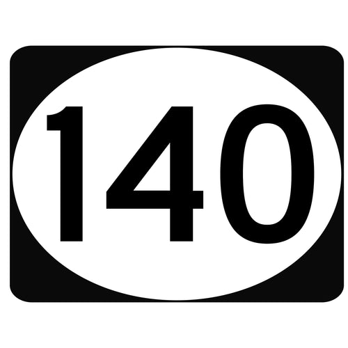 Three Digit Route Marker