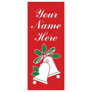 personalized Bells Banner