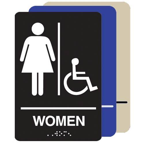 Women's Restroom Handicap Accessible