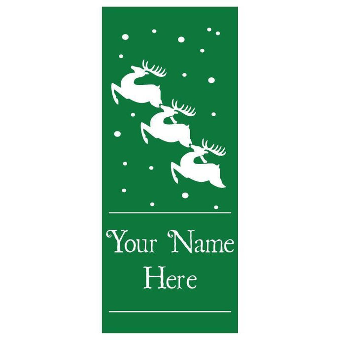 personalized Reindeer Banner