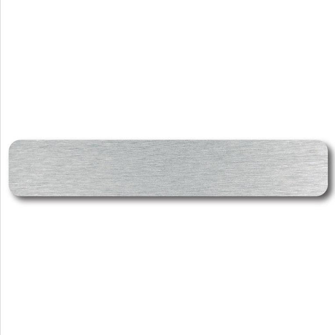 Plain Aluminum Name Plates