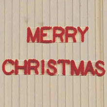 Load image into Gallery viewer, 3' Merry Christmas Building Front Sign