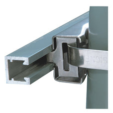 "SX0090 Large Corner Angle Channel Extrusions, 1.5""x1.5""x120"""