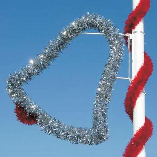 4' Garland Holiday Bell