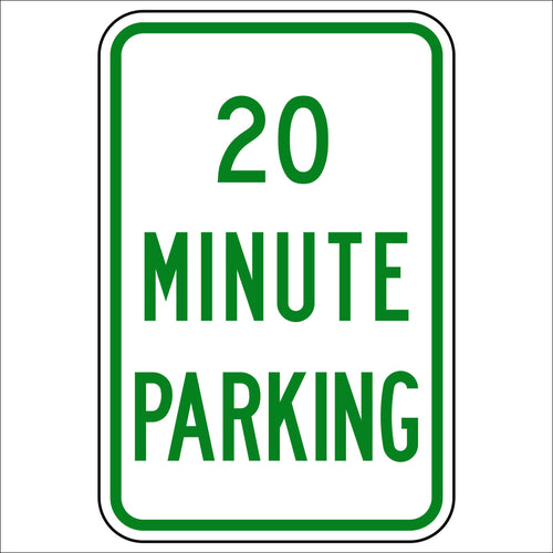 20 Minute Parking